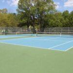 TenniscourtsEmpty